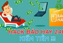 Hack xu ứng dụng đọc báo hay 24h kiếm tiền appvn bằng auto đọc báo