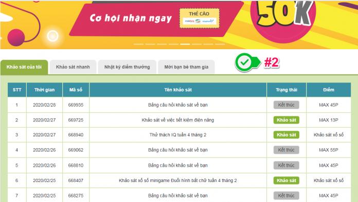 Top các trang khảo sát kiếm tiền online uy tín việt nam - Infoq