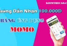 Momo ứng dụng kiếm tiền điện thoại nhận ngay 100K khi liên kết thẻ ngân hàng ATM với ví momo