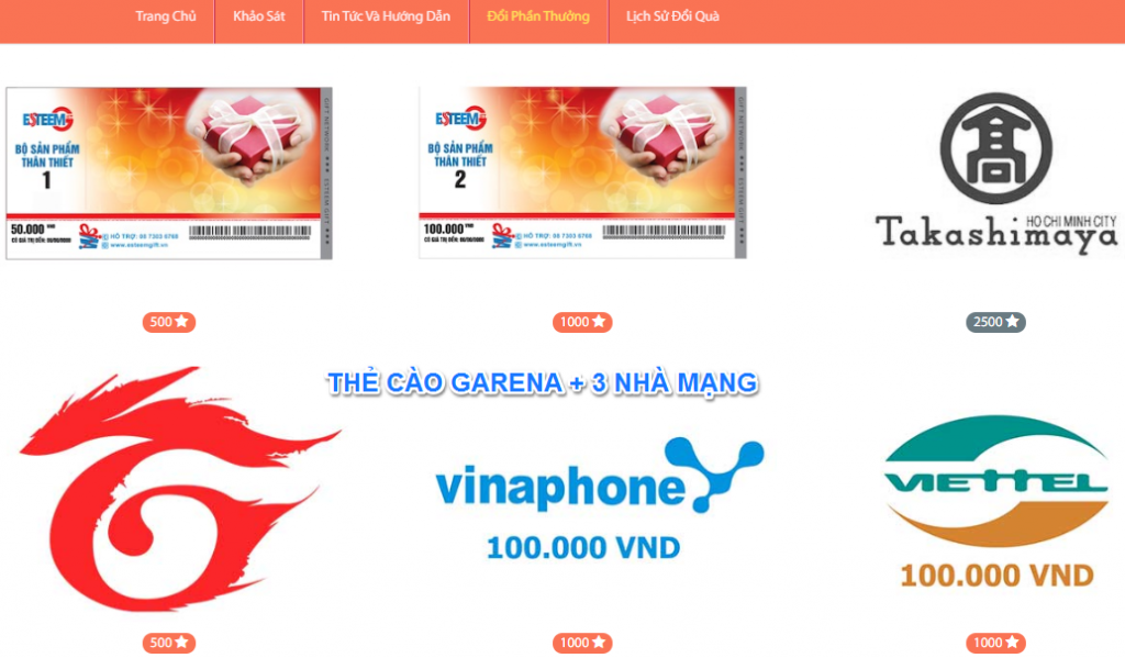 Khảo sát kiếm tiền voice pick đổi thẻ garena miễn phí 2020 và thẻ cào điện thoại