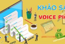 Khảo sát kiếm tiền voice pick kiếm thẻ garena miễn phí 2020