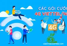 Các gói cước 4G Viettel 1 ngày tốc độ cao