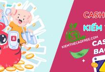 Cashbag kiếm tiền nhận ngay 10K miễn phí