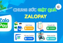 Chung sức giật quà ZaloPay 100K và 50K kiếm tiền mặt miễn phí