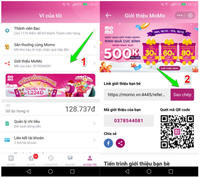 Cách nhận 500K từ Momo kiếm tiền miễn phí mới nhất - nhận thêm 500K