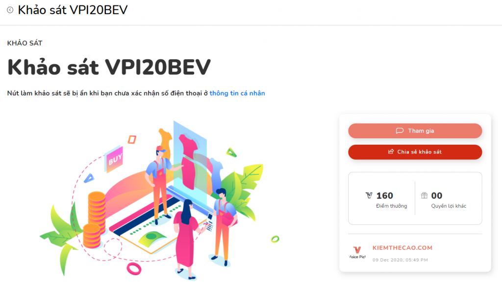 Voice Pick kiếm tiền bằng khảo sát trực tuyến tốt và nhanh nhất 2021