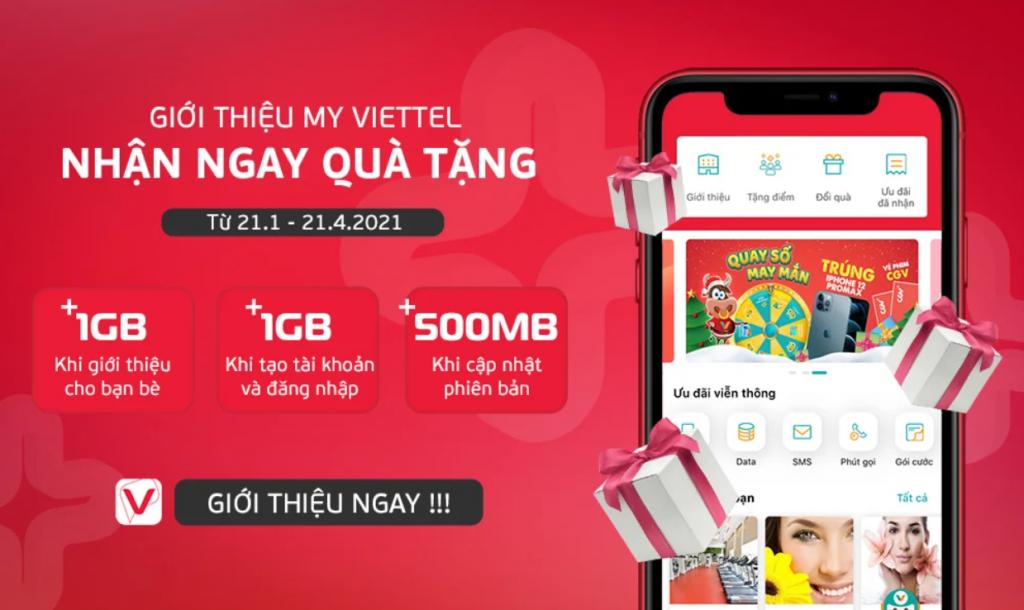 Cách nhận data miễn phí từ Viettel 2021 mới nhất giúp bạn có thêm GB data 4G truy cập mạng, xem phim miễn phí, Viettel tặng data miễn phí.