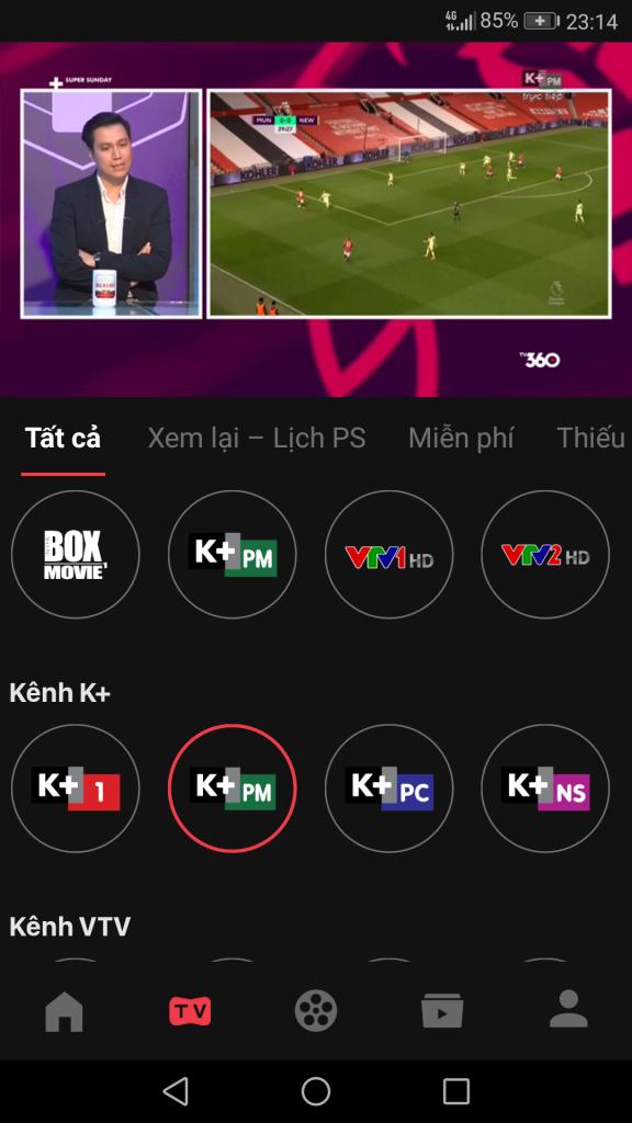 Cách xem K+ miễn phí trên điện thoại và Smart TV 2021, Xem K+ cộng miễn phí, K+ free