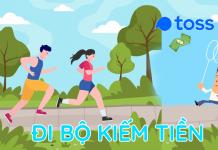 Toss là app đi bộ kiếm tiền trên điện thoại ứng dụng đi bộ đếm bước chân kiếm tiền thẻ cào, Hack App Toss rút tiền mặt uy tín nước ngoài.