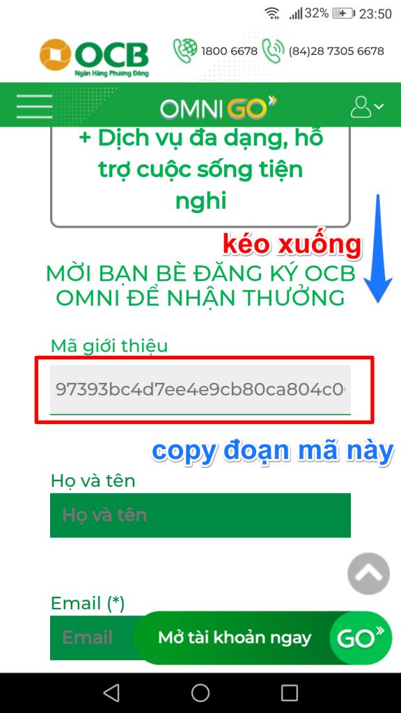 Mã giới thiệu OCB, làm thẻ online nhận 30K miễn phí từ OCB, ocb kiếm tiền online, kiếm thẻ cào miễn phí, ocb kiem tien