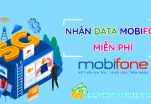 mobifone nhận data miễn phí, nhận data mien phi mobifone, nhan data free, data mobifone 4g 5g mien phi