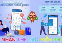 NCB kiếm tiền online kiếm thẻ cào miễn phí giới thiệu bạn bè kiếm tiền