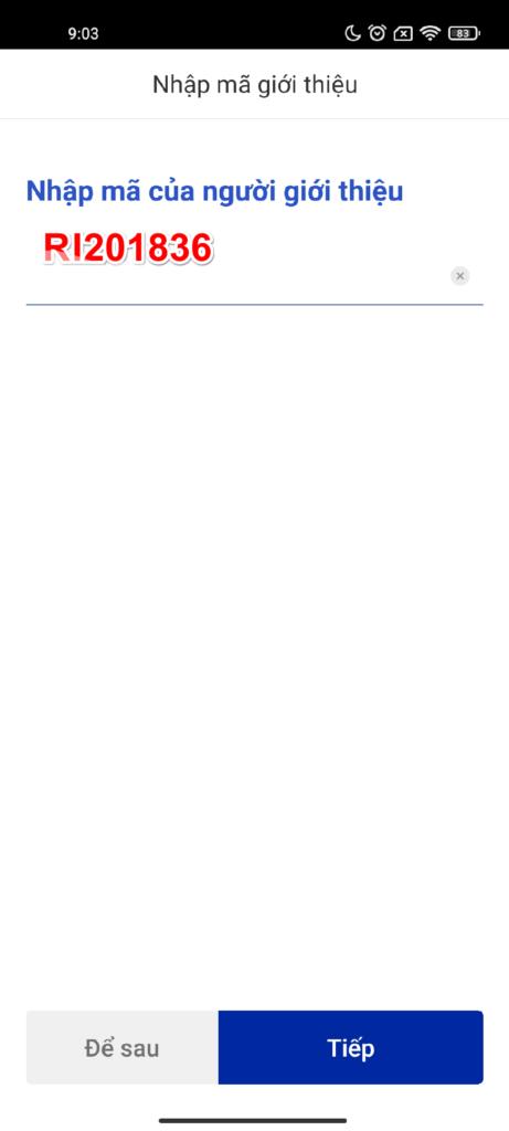 Nhập mã giới thiệu Woori Bank nhận 40K