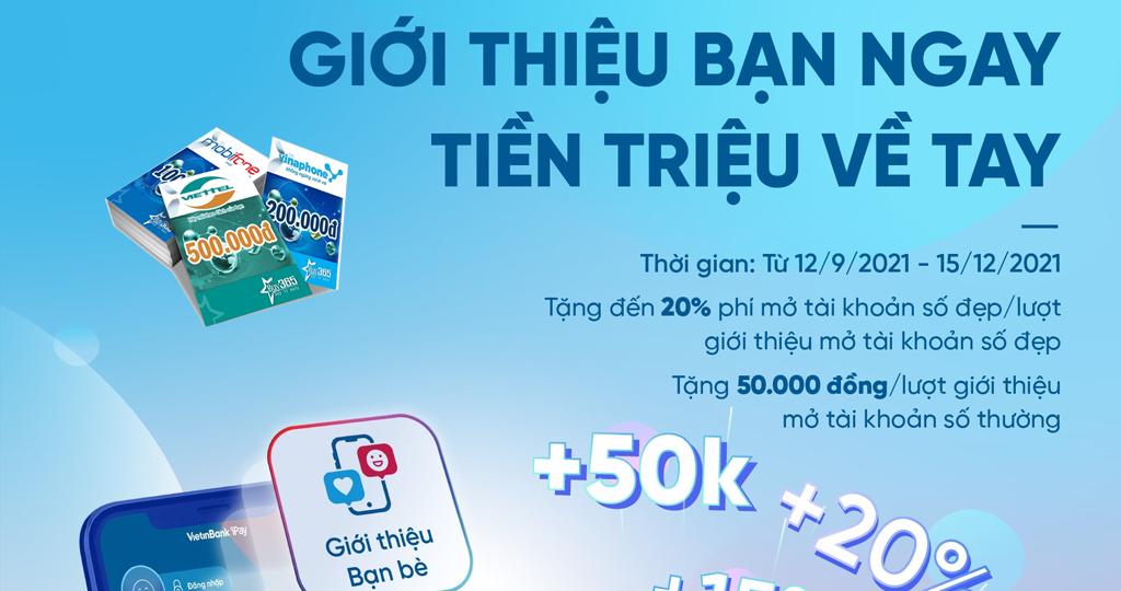 Vietinbank Ipay kiếm tiền thẻ cào miễn phí